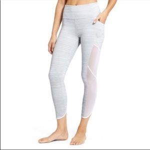 Athleta High Rise Mesh Chaturanga Capri Legging XS
